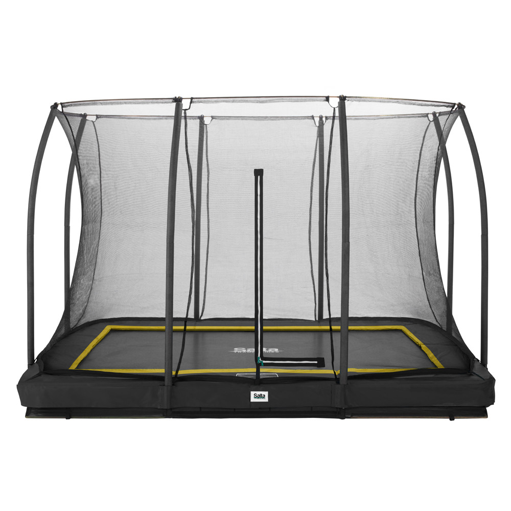 Salta trampoline Comfort Edition Ground antraciet 305x214 cm.